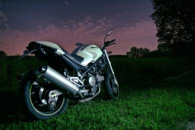 Bezpieczny motocyklista