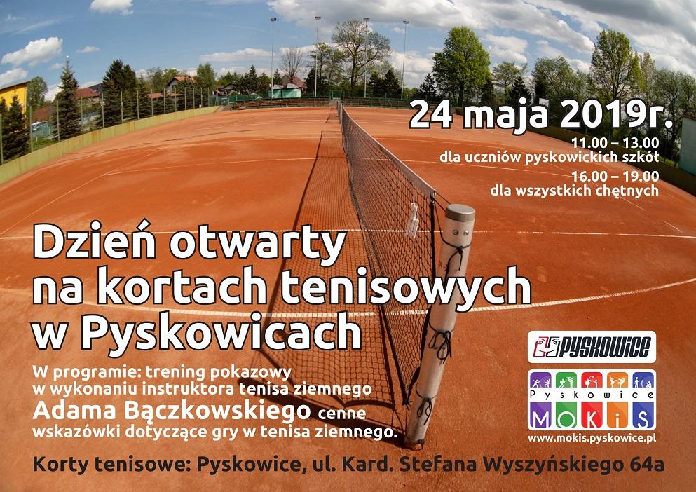Dzień otwarty na kortach tenisowych