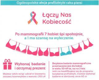 Badania mammograficzne w Pyskowicach